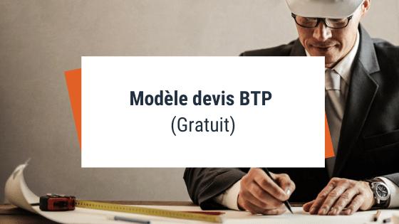 Modèle devis BTP (Gratuit)